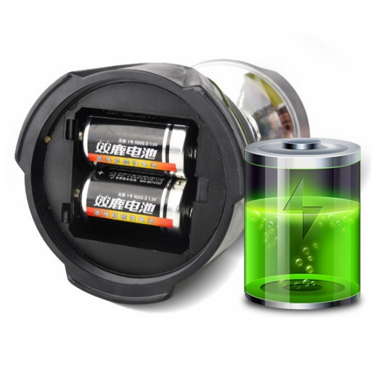 3D Battery COB Camping Lantern with Dimmer Switch & Compass