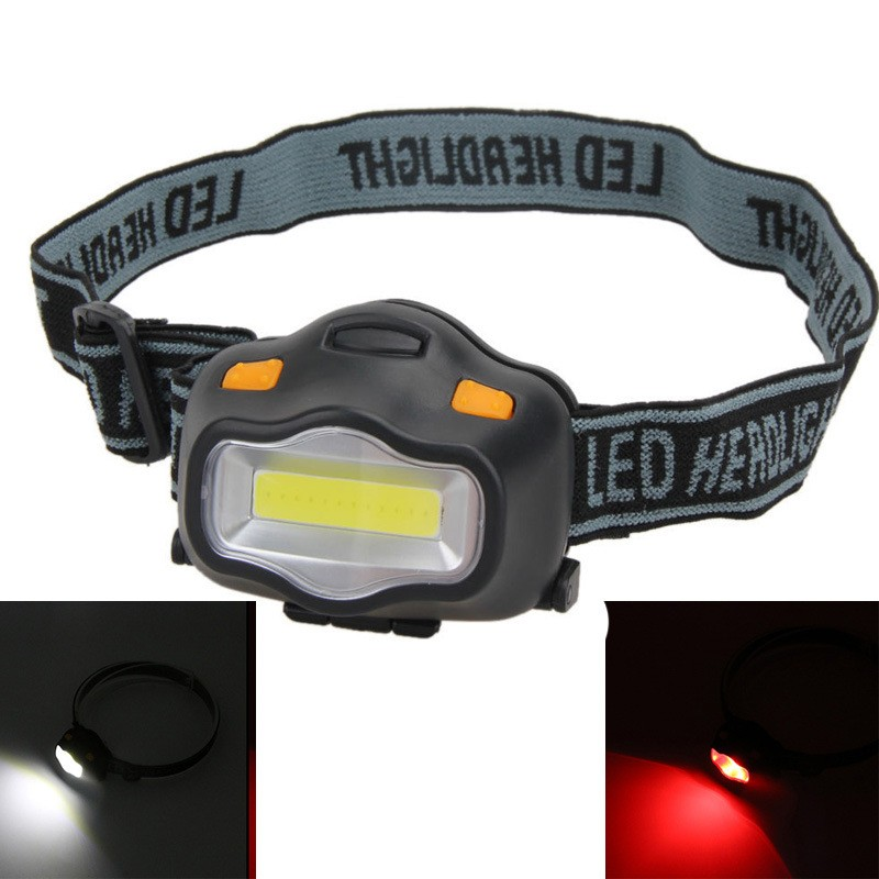 3W ultra light waterproof fishing head lamp