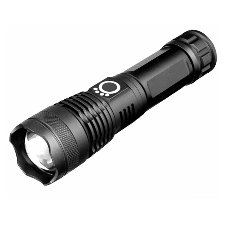 Aluminum Telescopic Zooming T6 flashlight