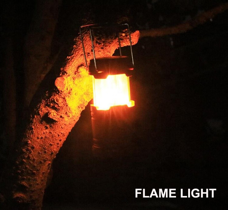 Foldable Flame Camping Light,Two Size Available