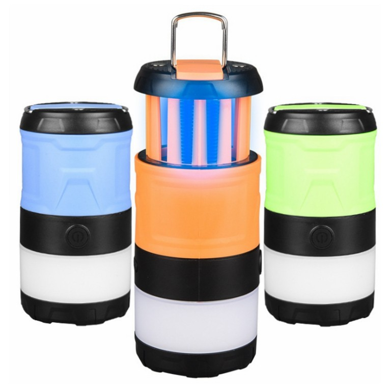 Foldable Rechargeable 3W Lantern with Mosquito Killler